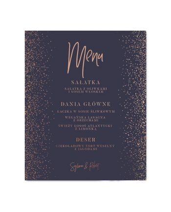 menu weselne Audrey Glam