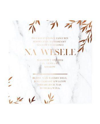 zaproszenie na wesele alice