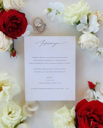 Karta informacyjna Perfect Roses