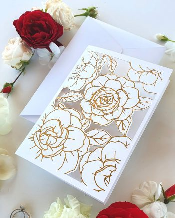 Zaproszenie Perfect Roses